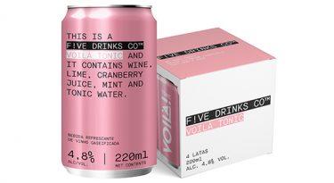 F!ve Drinks Co. chega ao Brasil como opção fora do bar