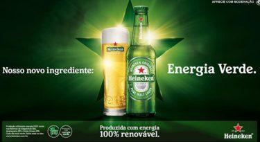 Heineken insere energia verde em sua receita