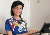 Lu, do Magalu, estrela campanha em collab de Adidas e Farm