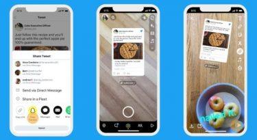 Twitter permite compartilhamento no Instagram e Snapchat