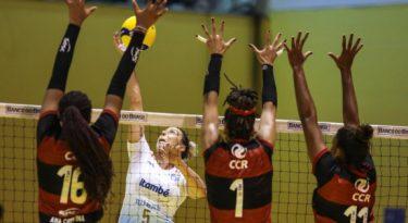 Grupo CCR patrocina time de vôlei feminino Sesc RJ Flamengo