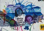 99 homenageia motoristas com arte urbana