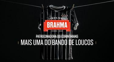 Brahma fecha parceria de patrocínio com o Corinthians