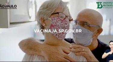Com início da vacinação, Governo de SP estreia campanha