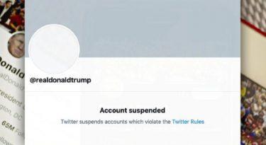 Com Trump suspenso, redes se atentam aos discurso de ódio