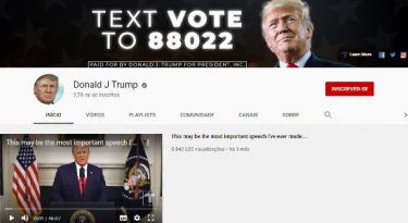 Youtube suspende uploads de Donald Trump