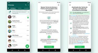 WhatsApp reforça comunicação sobre novas políticas
