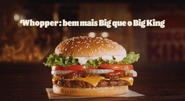 Ação do Burger King induziu comparação com McDonald´s