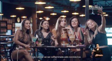 Em nova peça, Governo de SP alerta jovens sobre a Covid-19