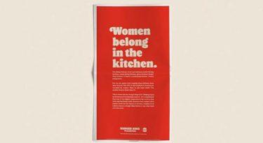 """""""Mulheres pertencem à cozinha"""": ação gera críticas ao Burger King"""