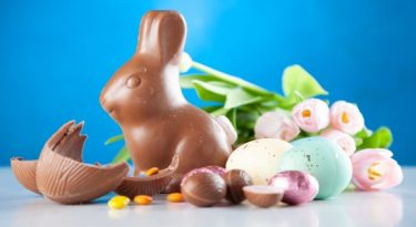 A Páscoa e o coelho dos ovos virtuais