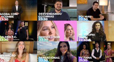 RedeTV incrementa programação com atrações