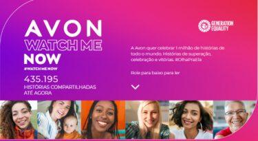 Avon cria plataforma com histórias inspiradoras de mulheres