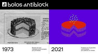 Abraji e Congresso em Foco criam Bolos AntiBlock