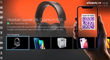 Vivo lança plataforma de compra online em TVs digitais