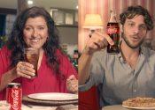 Coca-Cola brinda encontro de Dona Lurdes e Domênico