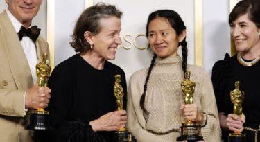 Oscar 2021: Nomadland e Netflix levam estatuetas