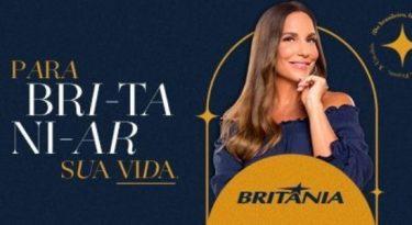 """Britânia e Ivete Sangalo se unem em nova campanha para """"britaniar"""""""