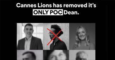Cannes Lions pede desculpas por falta de diversidade
