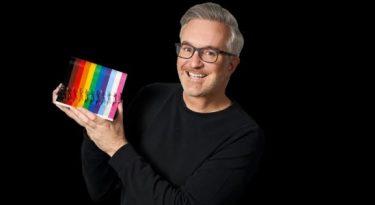 Lego celebra diversidade em kit com as cores do arco-íris