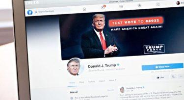 Facebook bane Trump por dois anos