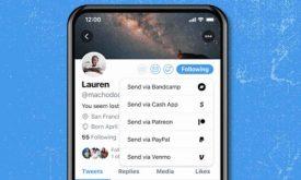 Twitter adiciona ferramenta de gorjeta