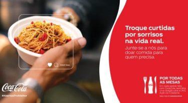 Coca-Cola cria iniciativa para estimular doação de refeições