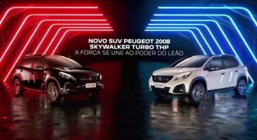 Disney e Peugeot firmam parceria usando a marca Skywalker