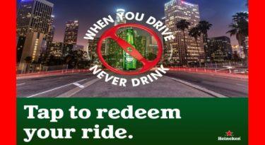 Nos EUA, Heineken se une ao Waze para evitar bebidas ao volante