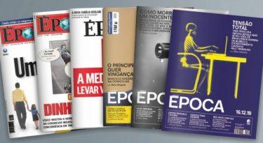 Revista Época é descontinuada e vira seção do jornal O Globo