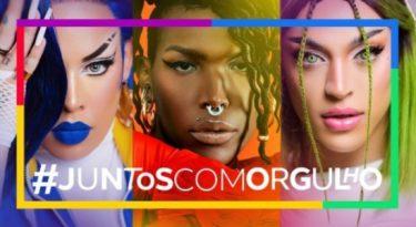 Facebook colore Minhocão em ação do mês do orgulho LGBTQIA+