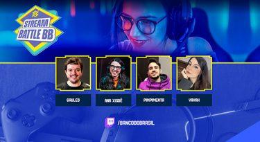 Banco do Brasil selecionará talentos para squad gamer
