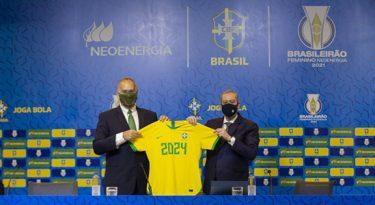 Neoenergia se torna patrocinadora do futebol feminino brasileiro