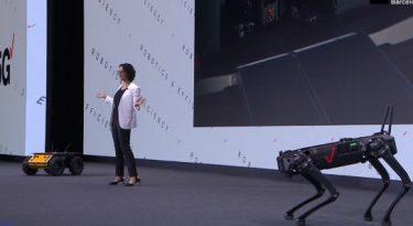 Como a Verizon usa 5G para transformar seus robôs?