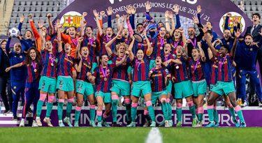 DAZN adquire os direitos da Champions League Feminina