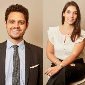 Guilherme Hidalgo Alves e Marcela Alves de Oliveira