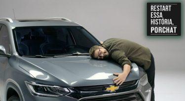 Porchat reconta histórias do público em ação da Chevrolet