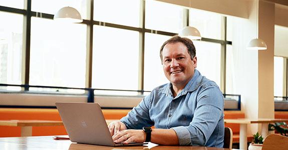 Luiz Marcelo, diretor de contas gerenciadas da Take Blip