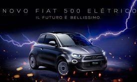 Fiat reúne influenciadores e raio para apresentar carro elétrico