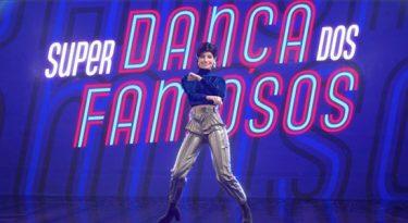 Lu, do Magalu, participa da Super Dança dos Famosos