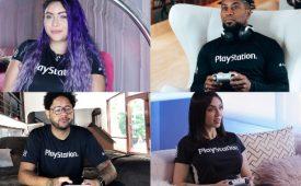 PlayStation apresenta time de influenciadores no Brasil