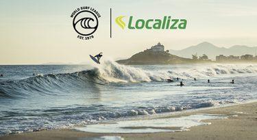 Localiza patrocinará World Surf League