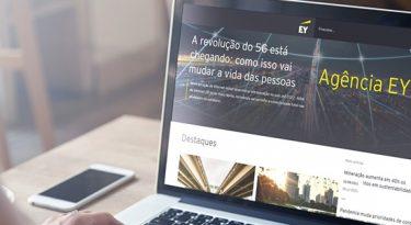 EY lança agência de notícias sobre economia e negócios
