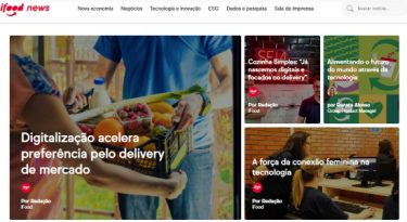iFood lança portal de notícias sobre negócios e inovação