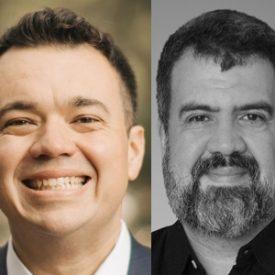 Luiz Gallo e Sergio Silva