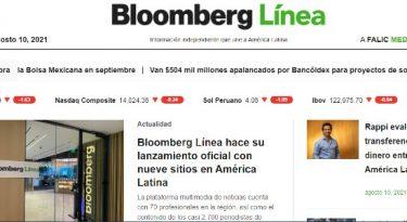 Bloomberg Línea quer conectar notícias da América Latina