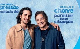 Fiuk e Fábio Jr. se unem à Amil para falar sobre saúde mental