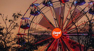 Parque Ibirapuera ganha roda-gigante do iFood