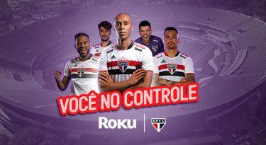 Roku fecha patrocínio com o São Paulo Futebol Clube