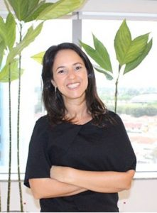 Fabiola Menezes, diretora da categoria de biscoitos da Mondelēz Brasil